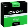 DVD-R Intenso 4,7 GB, 16x (balení 10 ks)