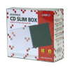 Obal na CD, 5,2 mm, slim box, 10 ks